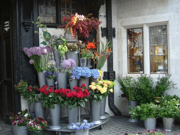 イギリスの花屋